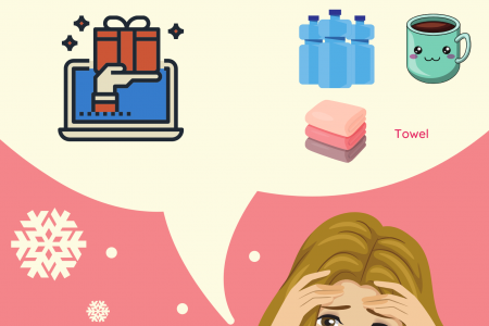 Buying Christmas Gifts Early: How Can it Reduce Stress? Infographic