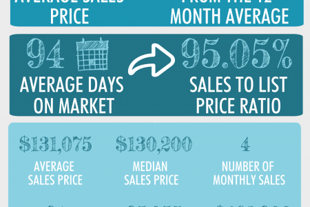 Byron GA Real Estate Market in January 2015 Infographic