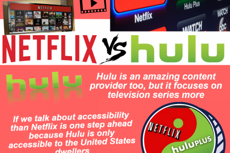 Call 1855-293-0942 Which one is suitable, Netflix or Hulu? Infographic