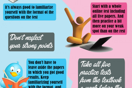 Cambridge English Exams Tips Infographic