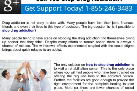 Can You Stop Drug Addiction? Infographic