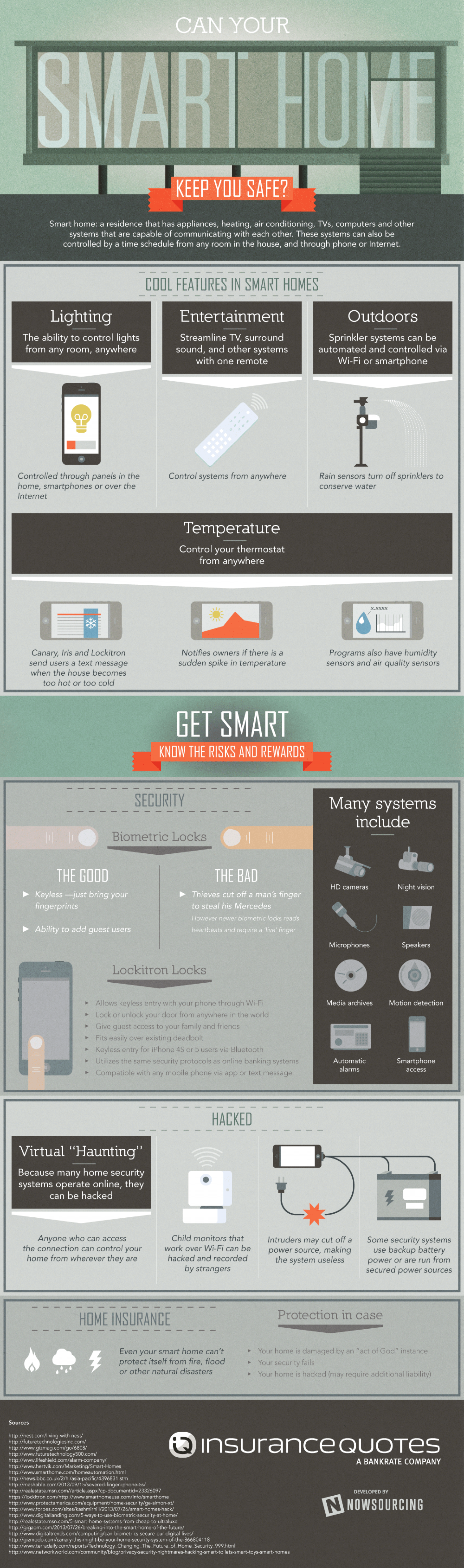 Can Your Smart Home Keep You Safe? Infographic