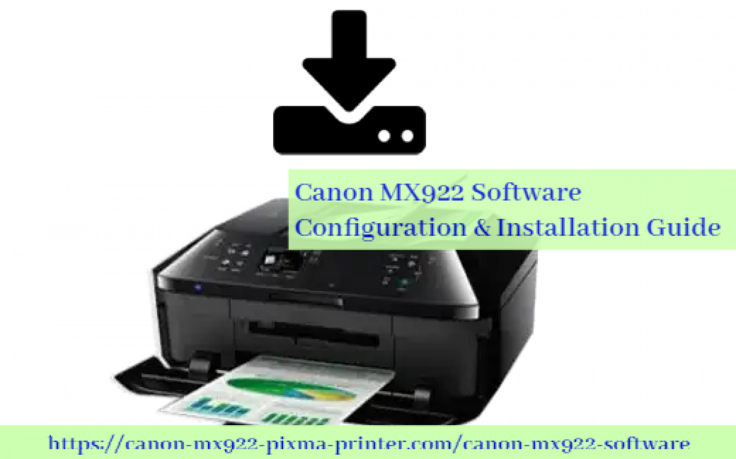 Canon MX922 Software - Configuration & Installation Guide Infographic