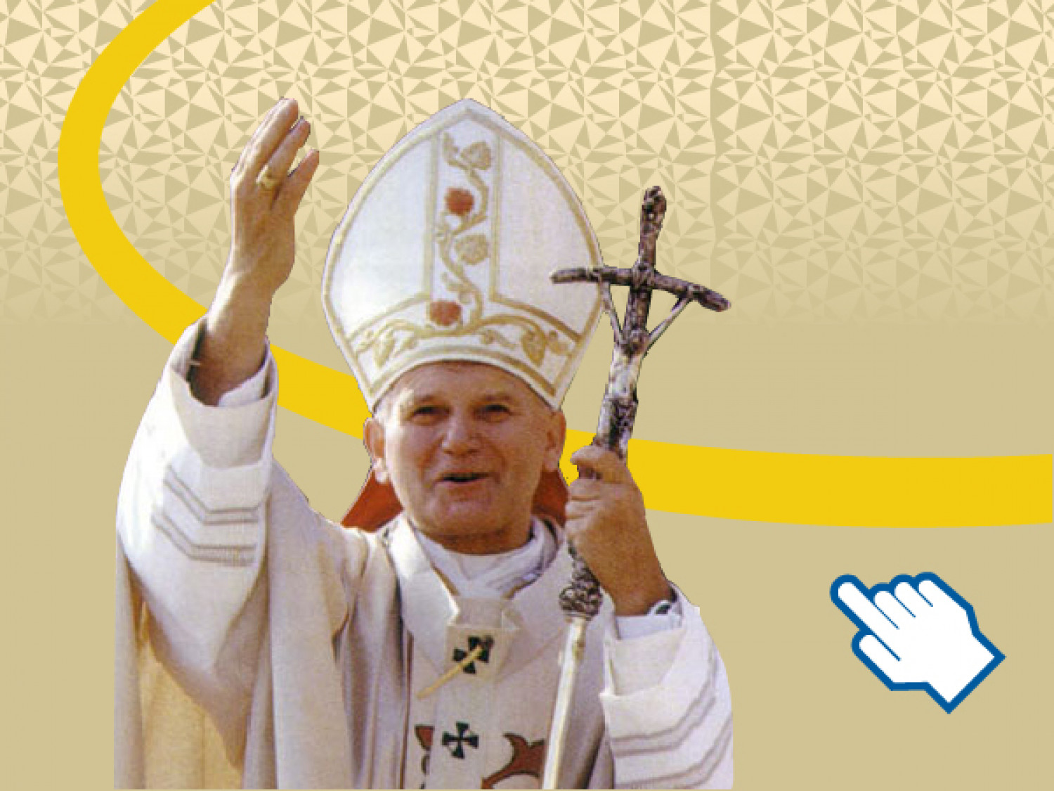 Canonization of John Paul II. Infographic