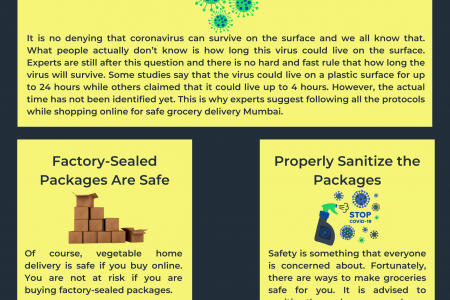 Can't Avoid Delivered Groceries Sanitization This Time  Infographic