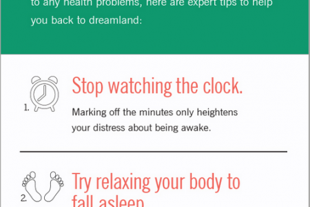 Can't Sleep? Here's What You Can Do Infographic