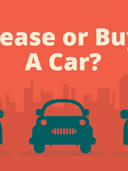 Car Leasing vs Car Buying Infographic