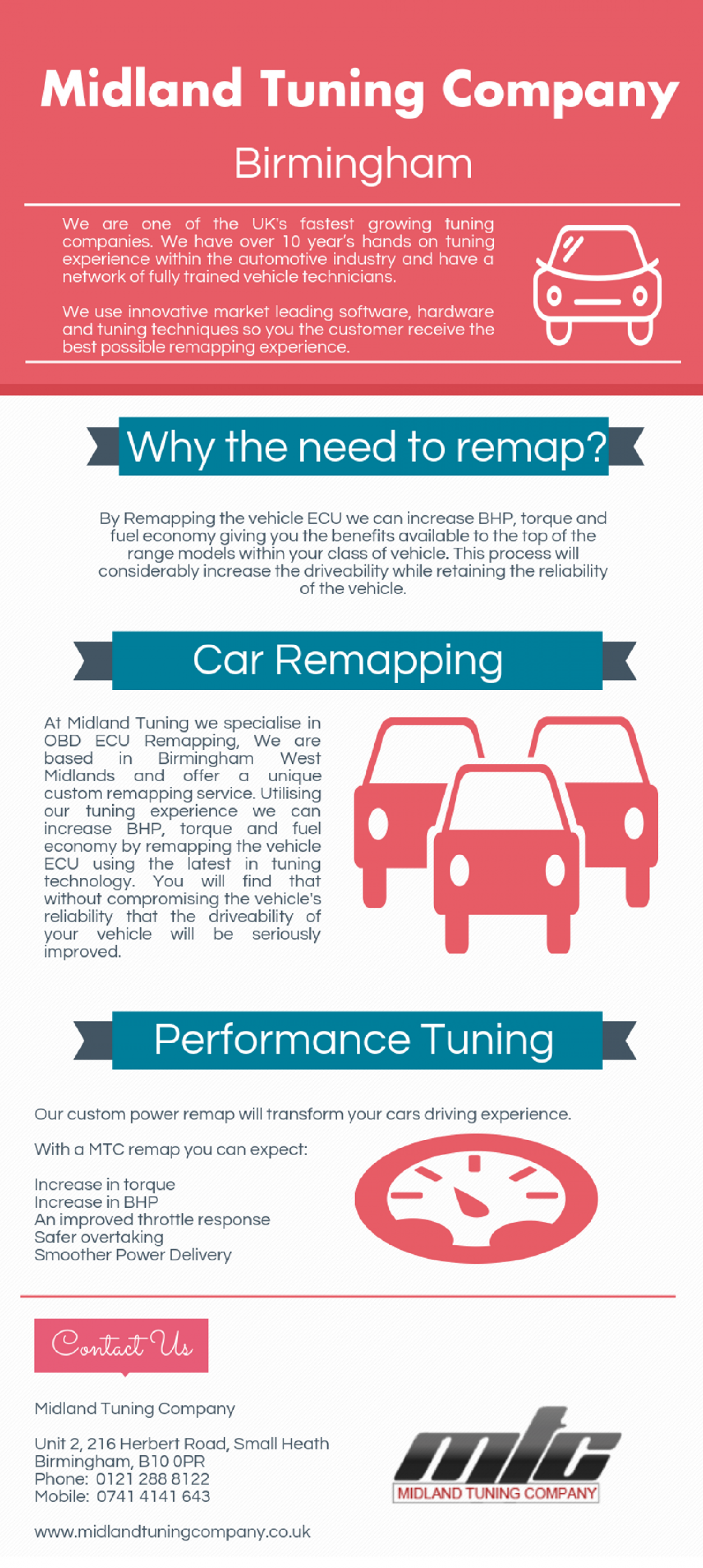 Car Remapping Services At Midland Tuning Company