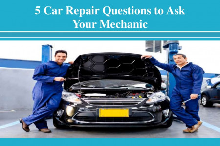 Car Repair Questions to Ask Your Mechanic Infographic