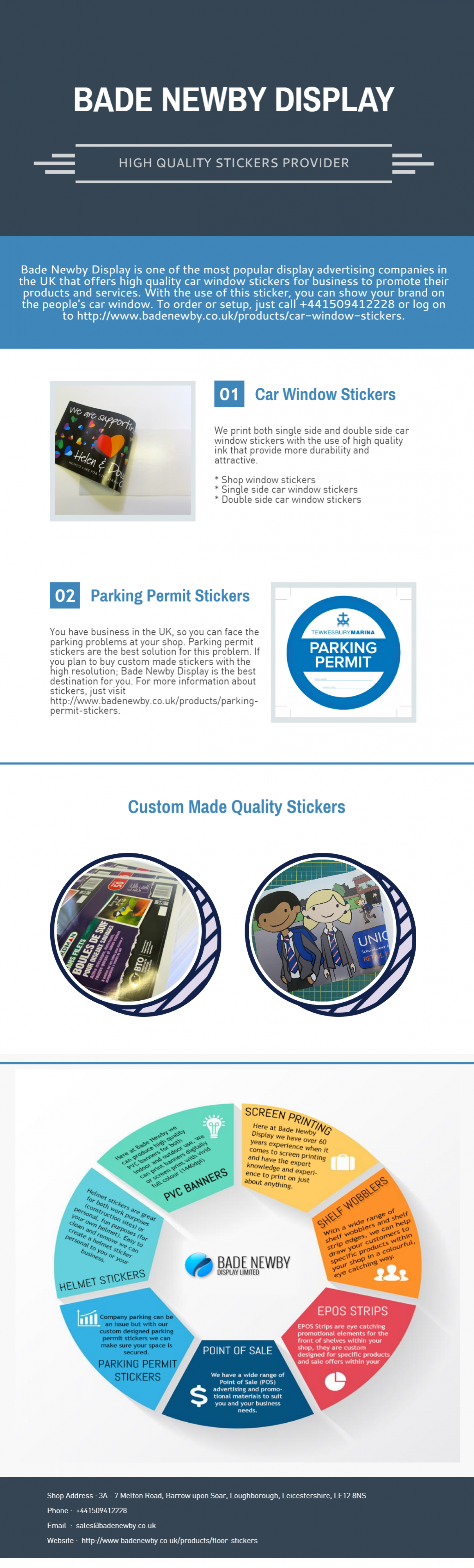 Car Window Stickers | Parking Permit Stickers