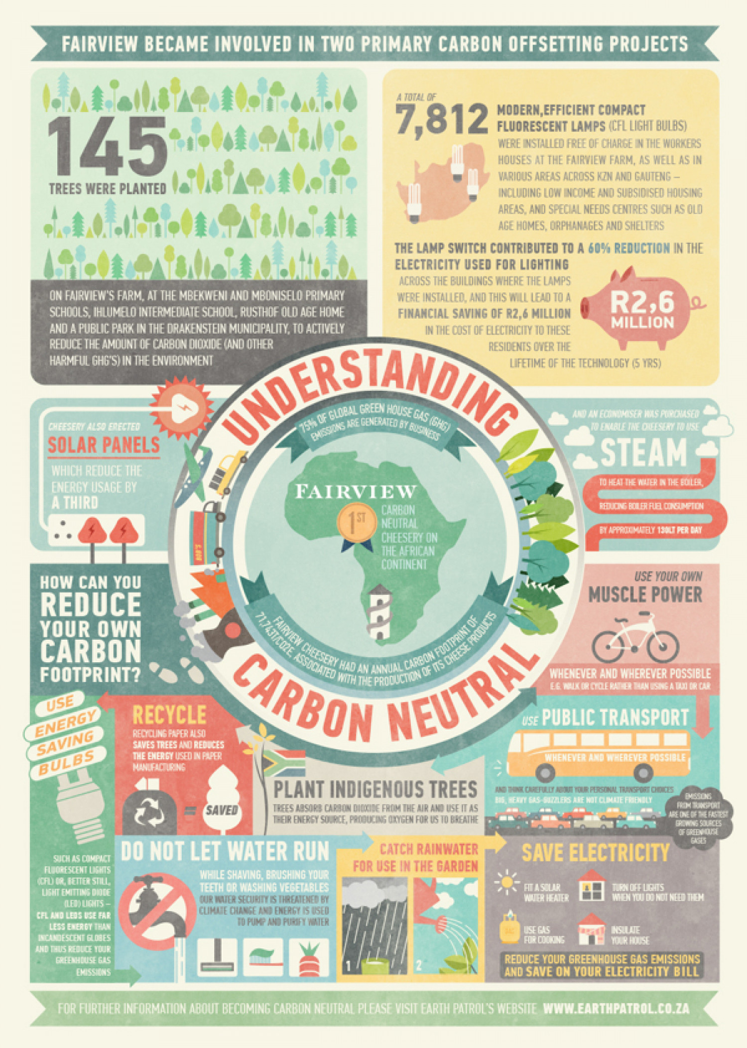 Carbon Neutral Infographic