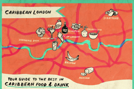 Caribbean London Infographic
