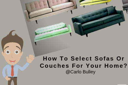 Carlo Bulley - How To Select Sofas Or Couches For Your Home? Infographic