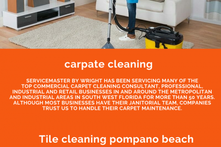Carpet Cleaning Company in Pompano Beach, FL Infographic