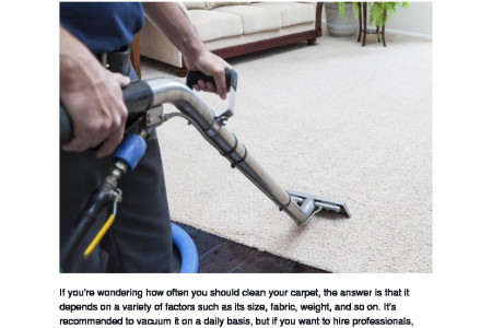 Carpet Cleaning Services Washington Dc Infographic