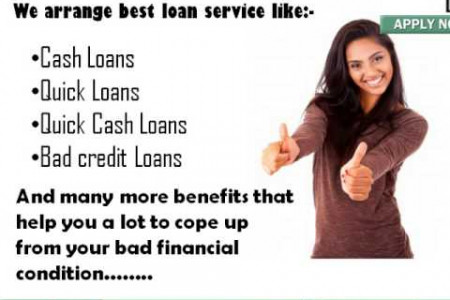 Cash Loans Now- Get Speedy Cash Support In Urgencies Infographic