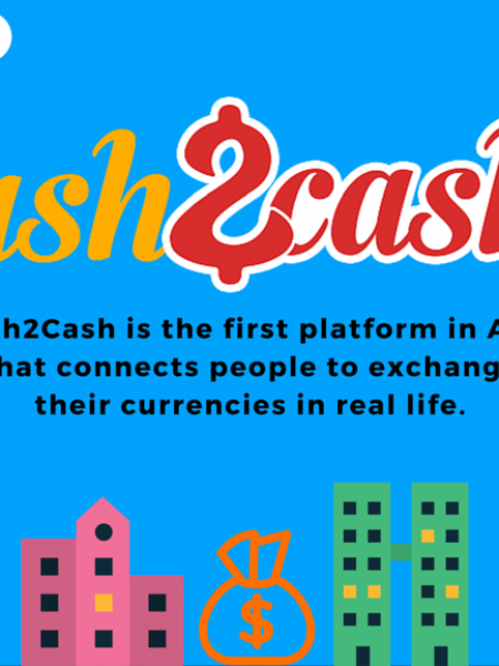 Cash2Cash - This app is going to change currency exchange! Infographic