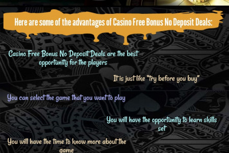 Casino Free Bonus No Deposit Deals – The Real Game Changer Infographic