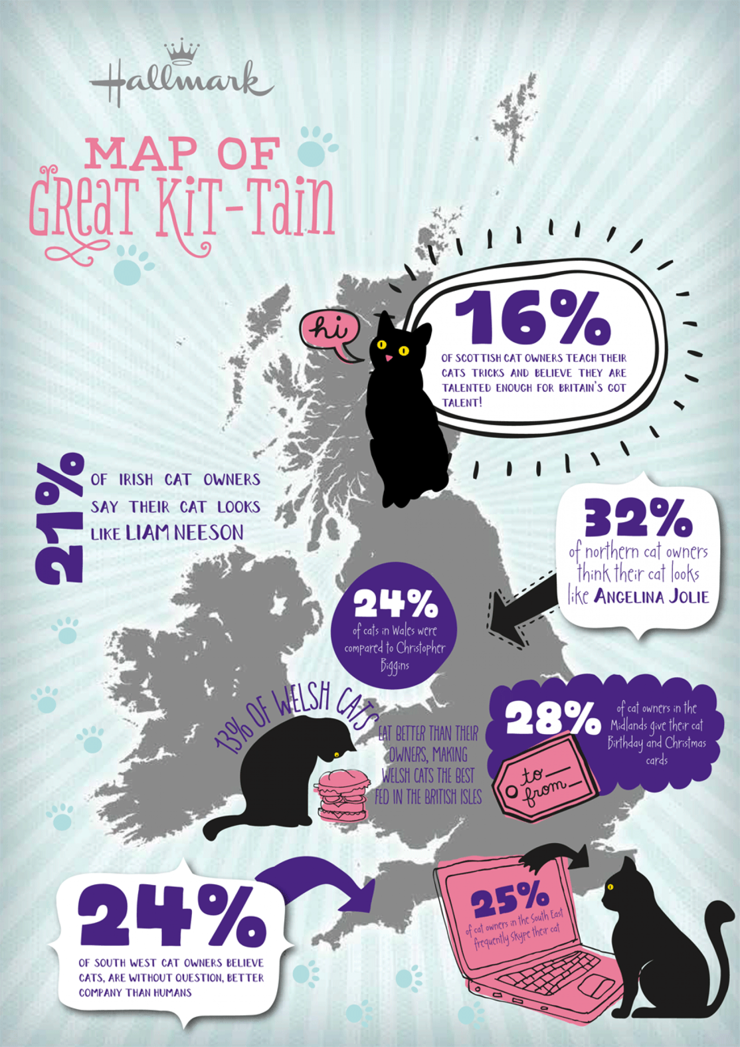 Map of Great Kit-Tain Infographic
