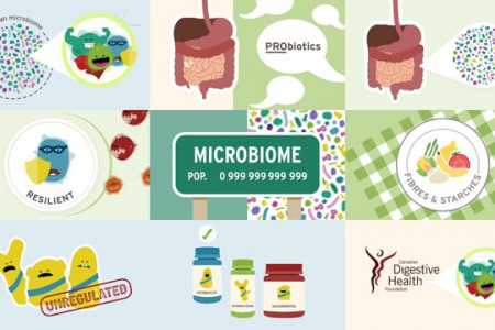 CDHF - Your Microbiome Infographic