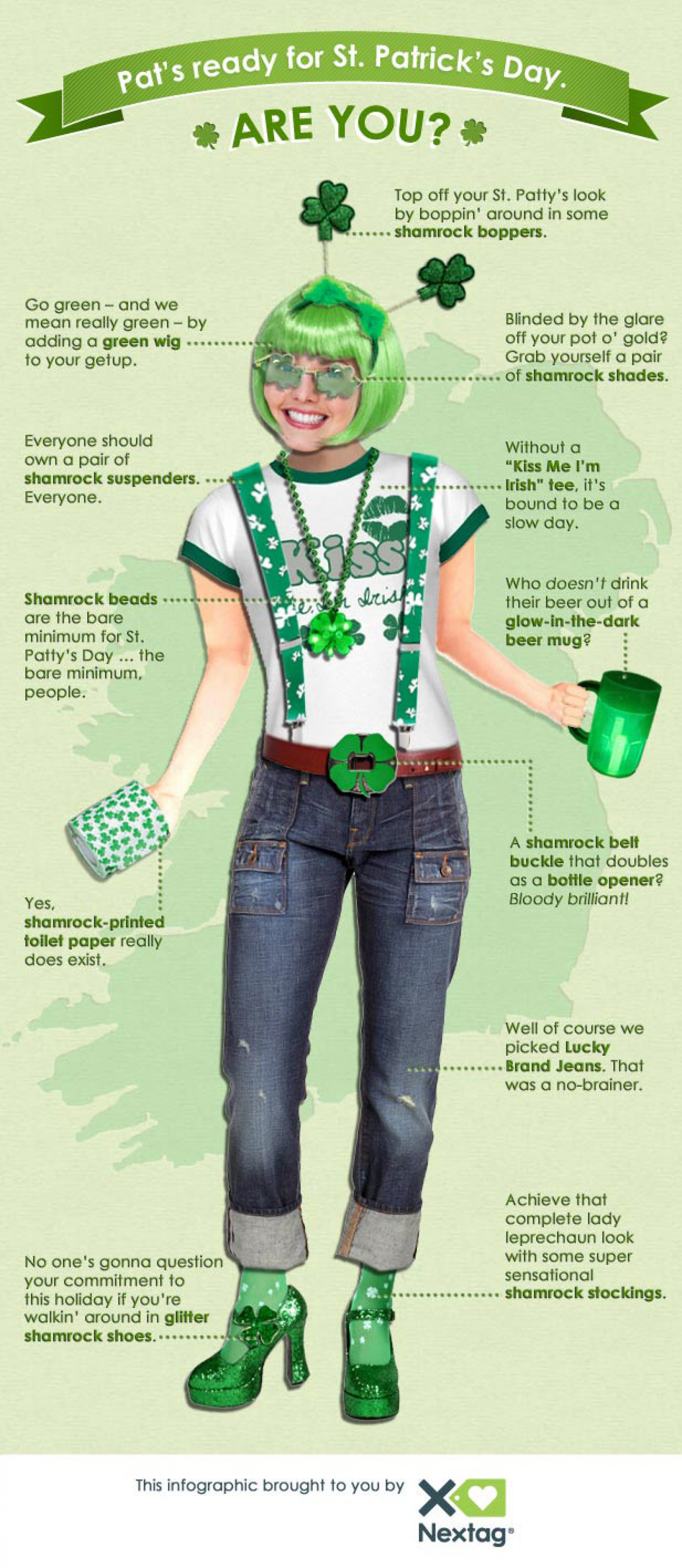 Celebrate St. Patrick's Day with Nextag Infographic