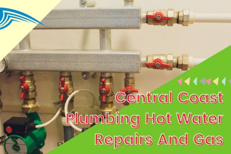 Central Coast Plumbing Hot Water Repairs And Gas Infographic