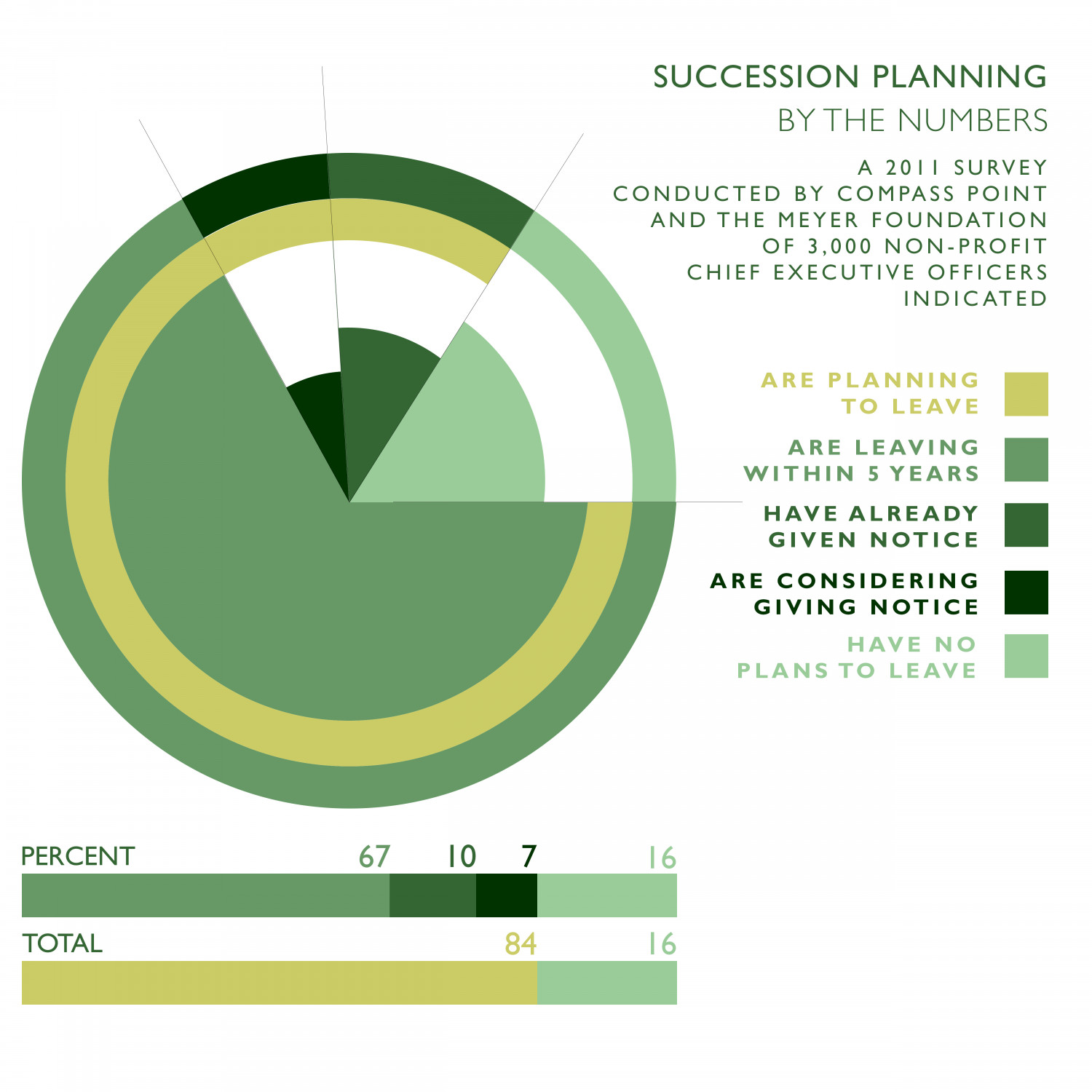 Ceo succession planning pie model for Executive succession planning template