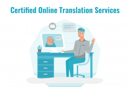 Certified Online Translation Services Infographic