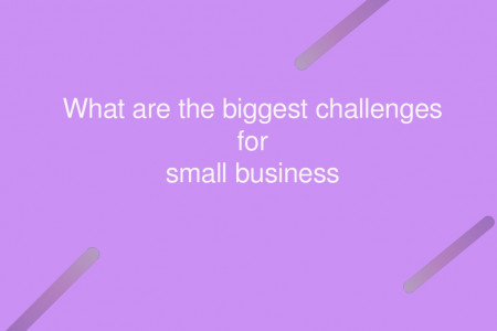 Challenges in Small Business Infographic