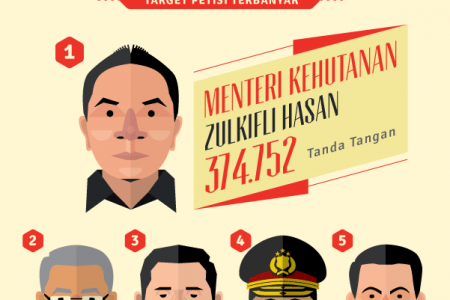 Change.org Indonesia in 2013 Infographic