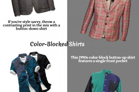 Changing Fashion Trends of Men Infographic