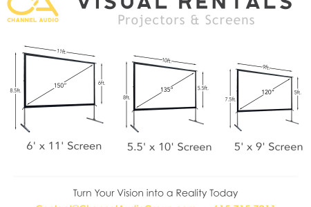 Channel Audio Visual Projection Infographic Infographic