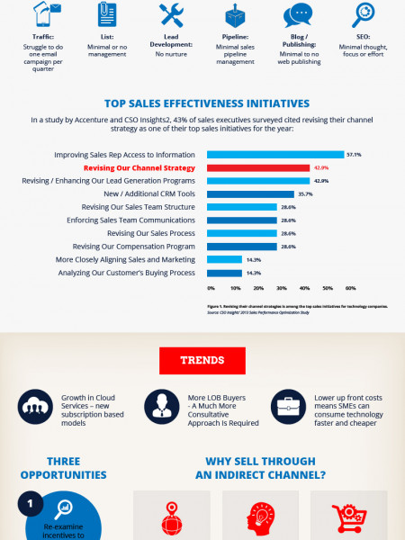 Channel Marketing for SaaS, Cloud, Hosting Companies Infographic