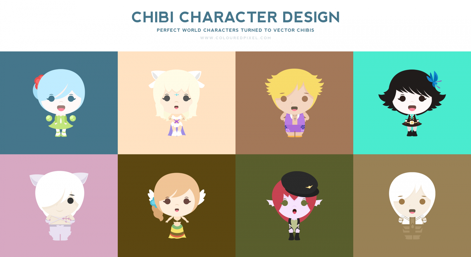 Character Design Presentation : Character design presentation visual ly