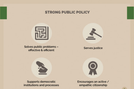 Characteristics of Successful Public Policy Infographic