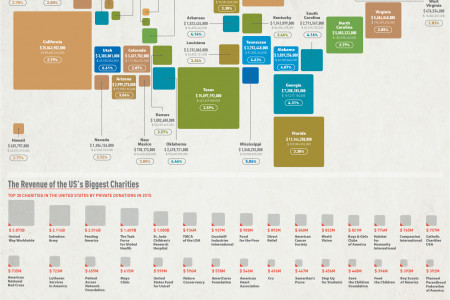 Charitable Giving in the United States Infographic