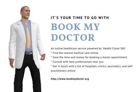 Chase Your health for better life: Book My Doctor Infographic