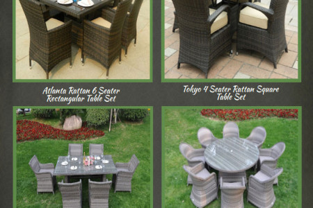 Cheap Rattan Garden Table And Chairs Sets Infographic