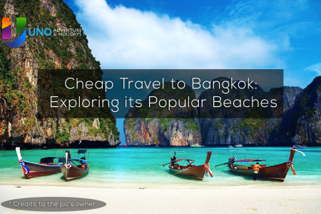 Cheap Travel to Bangkok: Exploring its Popular Beaches Infographic