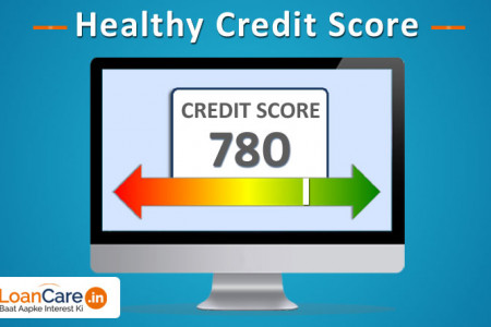 Check here you healthy CIBIL Score Infographic