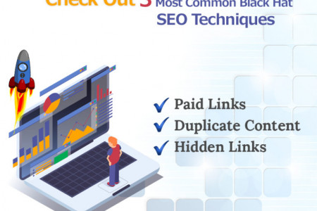 Check Out 3 Most Common Black Hat SEO Techniques Infographic