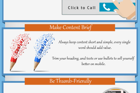 Checklist for better mobile landing page conversions Infographic