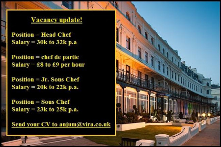 Chef Jobs in UK Infographic