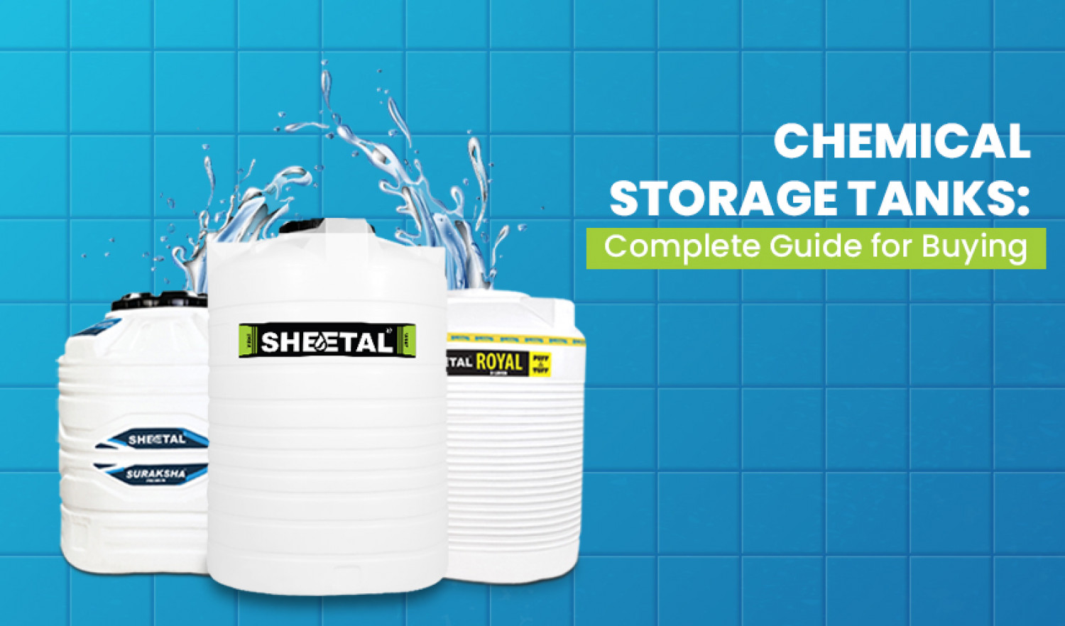 Chemical Storage Tanks: Complete Guide for Buying Infographic