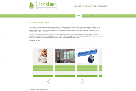 Cheshire Office Interior Infographic Infographic