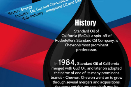 Chevron Company Description Infographic