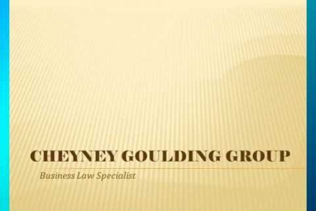 Cheyney Goulding Group Infographic