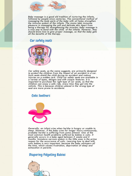 Child Care Tips Infographic