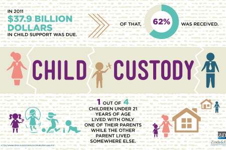 Child Custody Data Infographic
