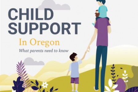 Child Support in Oregon Infographic